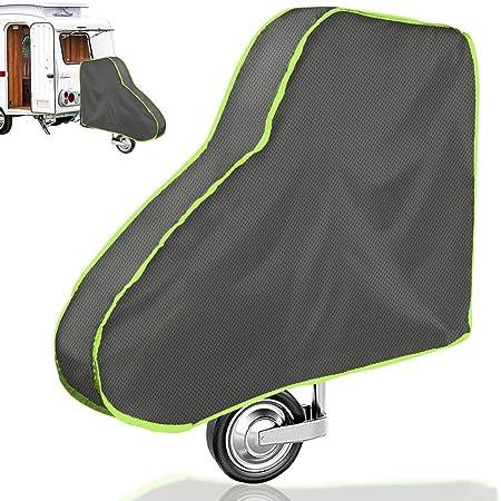Deichselabdeckung Universale Deichselhaube Deichselabdeckung Für Wohnwagen Und Anhänger Große Deichselschutz Mit Reflexstreifen Deichselschutzhülle Für Deichseln Anhängertypen Mit Kastenschloss Auto