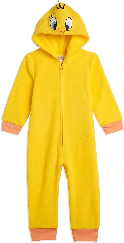 Looney Tunes Tweety Buggs Bunny Zip-Up Costume Onesie Pajama Coveralls : Clothing, Shoes & Jewelry