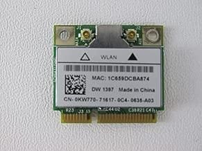 KW770 - Dell True Mobile 1397 802.11 b/g Wireless WiFi Card - Half-Height Mini-PCI Express Card - KW770
