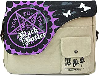 Anime Theme Shoulder bags Attack on Titan One Piece Naruto Totoro Black Butler Cross body Handbags