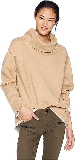 Telluride Cowl Neck Sweatshirt
