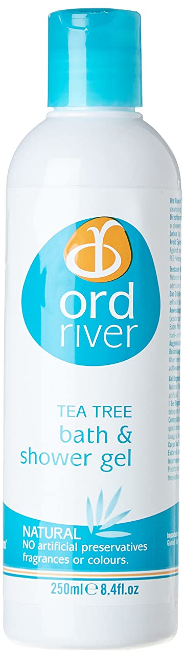 好奇心放射性飛ぶOrd River Tea Tree Bath and Shower Gel