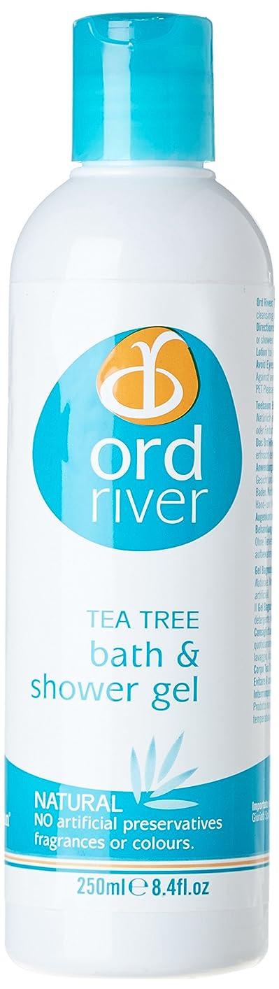 ロック解除生き残り異邦人Ord River Tea Tree Bath and Shower Gel