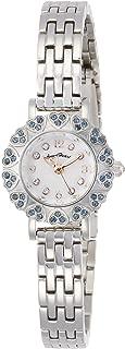 [エンジェルハート] 腕時計 Kiritani Mirei Select【桐谷美鈴誕生日コラボ1216本限定】ホワイト文字盤 スワロフスキー 交換レザーベルト2本付き MA23SS シルバー