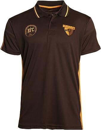 Hawthorn Hawks AFL Footy Mens Premium Polo T-Shirt