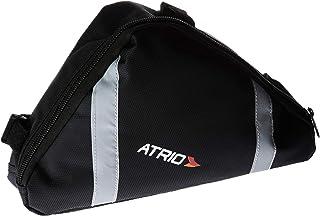 Bolsa de Selim de Quadrado para Bicicleta Capacidade de 1,2L Resistente à Água Material em em Poliéster e PVC Preto Atrio...