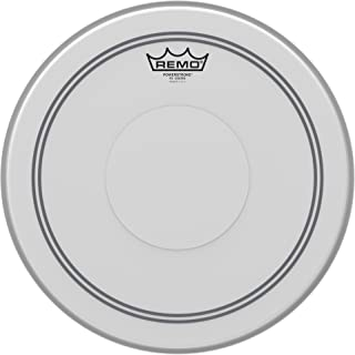 Remo P30114-C2 Coated Powerstroke 3 Drum Head (14-Inch) - Clear Dot on Top