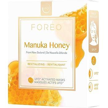 Mascarilla activa UFO Manuka Honey, de FOREO - pack de 6 unidades