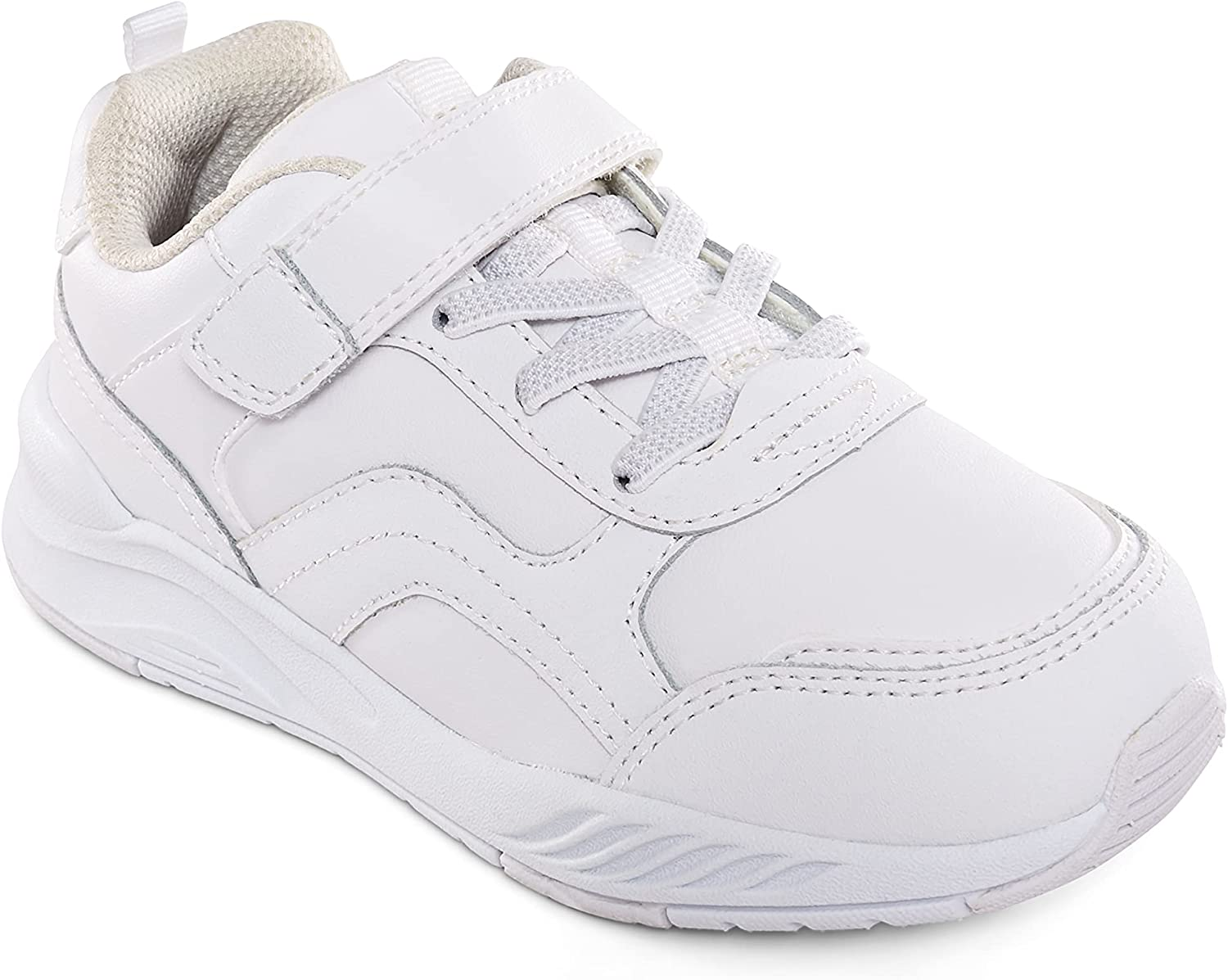 Max 80% OFF Stride Rite Made2Play Brighton Sneaker 11 Unisex White Latest item Wide US