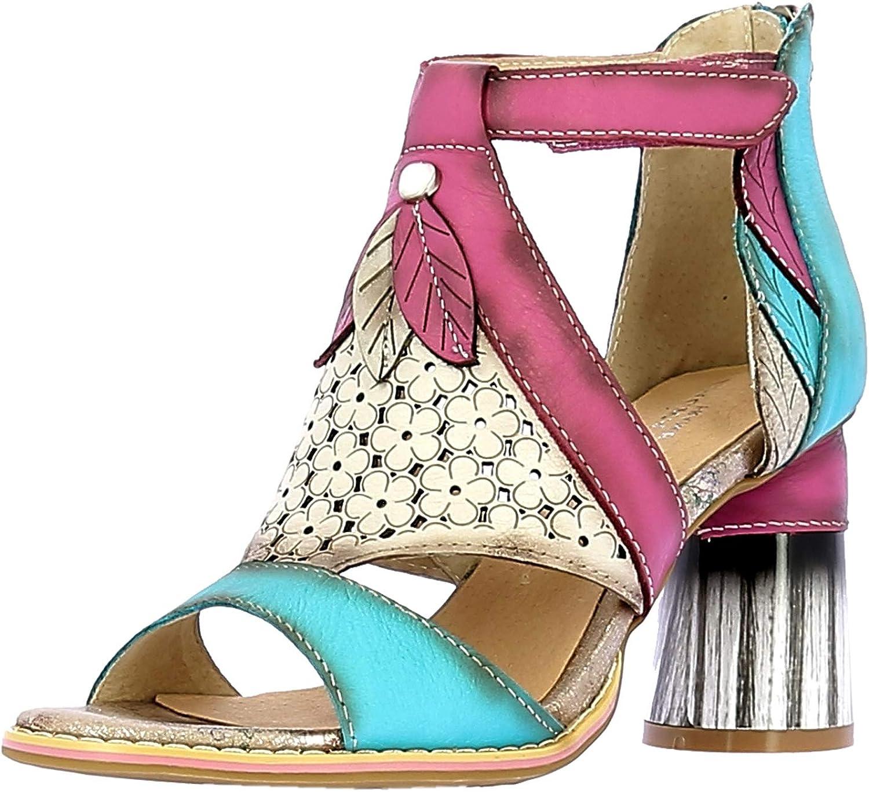 Laura Vita Gucstoo 23 Sandalias Fashion de Cuero Mujer