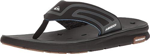 QuikSilber Men's Amphibian Plus Sandal schwarz grau, 12(45) D US