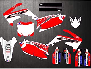 NEW STYLE TEAM GRAPHICS & BACKGROUNDS DECAL STICKERS Kits For Honda CRF250R CRF250 2010 2011 2012 2013 CRF450R CRF450 2009-2012