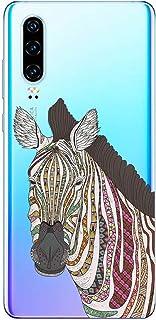 Oihxse Funda Dibujos Animal Lindo Compatible Realme 5 Pro Carcasa Transparente Clear Silicona TPU Gel Suave Case Ultra Sli...