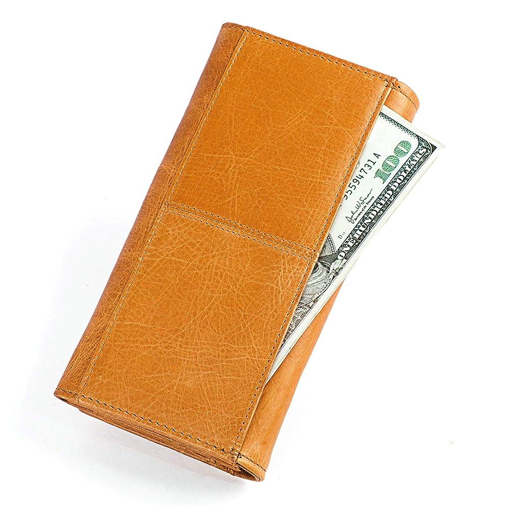 用語集さようなら辛いAdisaer-本革 レザー レディース 女性用 財布 長財布 ファスナーポケット スナップボタン 記念日 母の日 誕生日 ギフト プレゼント 特別な贈り物