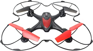 WonderTech Nebula 6-Axis RC Quadcopter Drone with HD Camera WiFi Streaming One Key Return Home Foldable Helicopter, Color Black