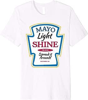 Christian Mayonnaise Mayo Bottle Shirt