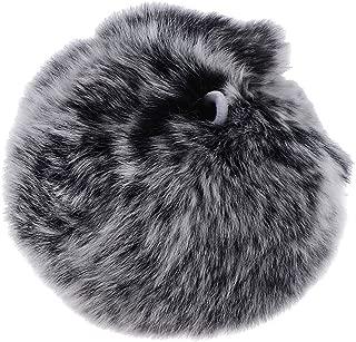 Baoblaze 8cm Pompom Ball Faux Rabbit Fur Fluff Balls Dangle for Keyring DIY Hat Cellphones Accessories Handcraft