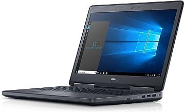 Dell Precision M7510 intel Core i5-6300HQ X4 2.3GHz 8GB 500GB 15.6in,Black(Renewed)