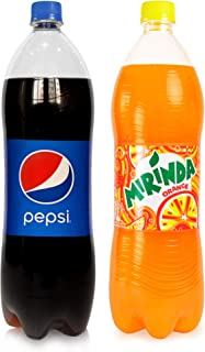 Pepsi & Mirinda Carbonated Soft Drinks, 2 x 1.5 Litre