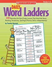Daily Word Ladders: Grades 4 6: 100 Reproducible Word Study Lessons That Help Kids Boost Reading, Vocabulary, Spelling & Phonics Skills Independently!