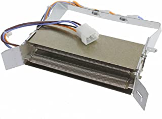Elemento calefactor Spares2go para Hotpoint + thermostant TVM562TVM562P TVM562G secadora (2300W)