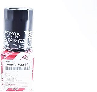 فلتر زيت الاصلي لسيارات تويوتا كامري (2001-2014)، كورولا (2001-2013)، راف فور (2005-2013-Toyota Genuine (90915-YZZE2) oil ...
