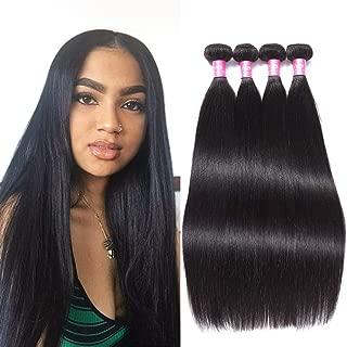8A Brazilian Straight Human Hair 4 Bundles 26 28 30 30inch 100% Unprocessed Virgin Brazilian Straight Hair Natural Color