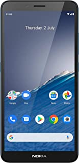 Nokia C3 5.99-inch Android 10 smartphone with all-day battery life, dependable design, 8MP rear camera with flash and fing...