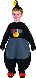 Baby Angry Birds Movie Bomb Romper Costume