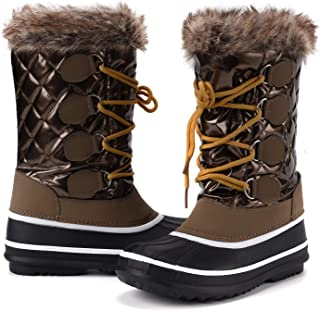 Women's Waterproof Winter Boots, Warm Insulated Snow Boots for Outdoor
