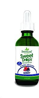 SweetLeaf Sweet Drops Liquid Stevia Sweetener, Berry, 2 Ounce
