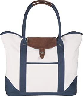 Cutter & Buck Legacy Cotton Boat Tote - NATURAL