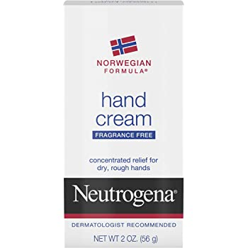 Neutrogena Unscented Norwegian Formula Hand Cream, 2 Ounces each (Value Pack of 6)
