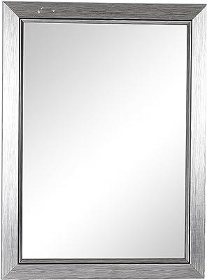 Friends Float Glass Wall Mirror (45.72 cm x 60.96 cm x 1.2 cm, Silver)