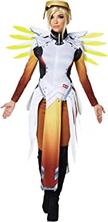 Adult Mercy Overwatch Costume | Officially Licensed