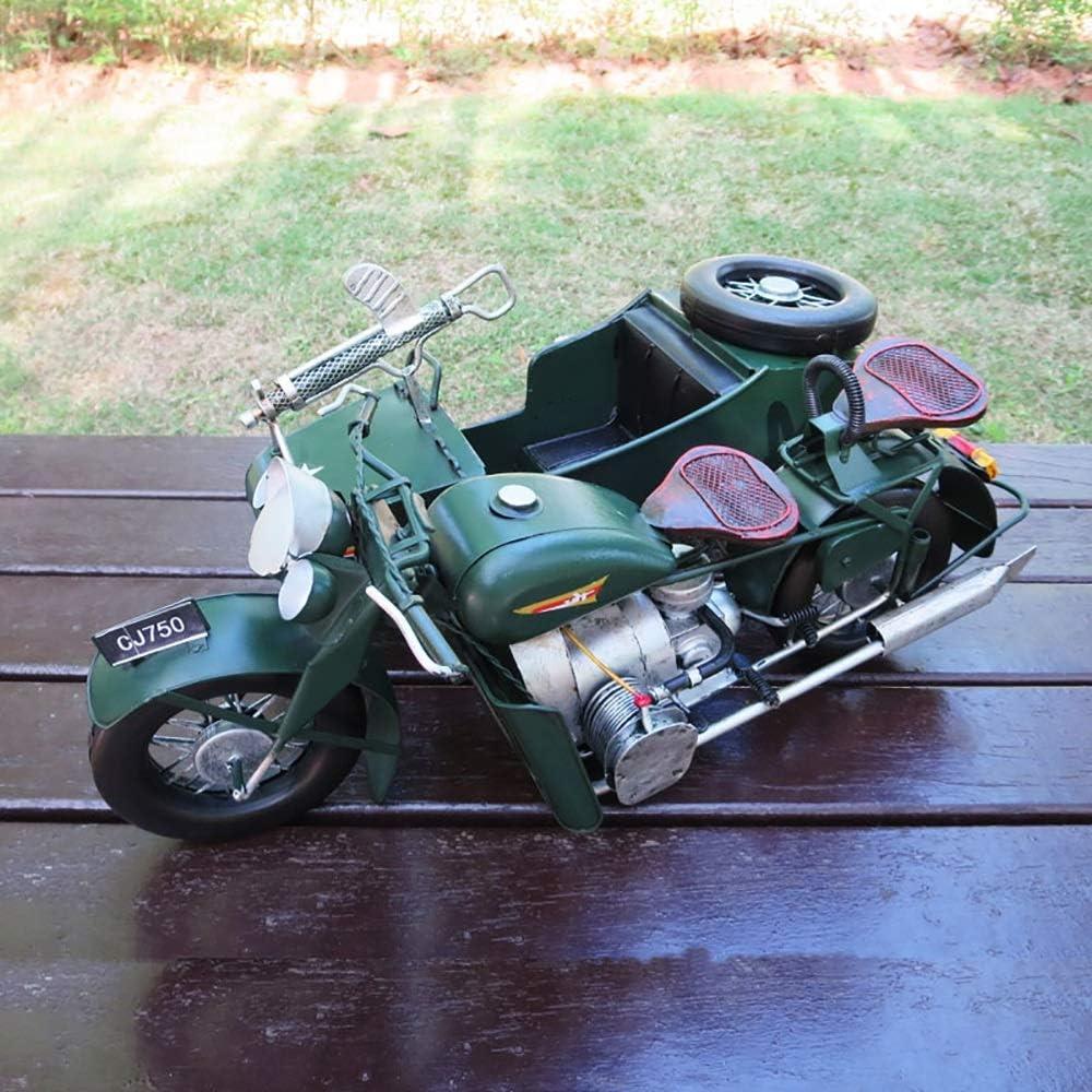 Recommendation Yangmanini Three-Wheeled Motorcycle Model Office Crafts Indefinitely Creative