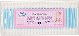 Cool & Cool Cool & Cool Baby Safe Buds 180 Pieces, Piece of 1