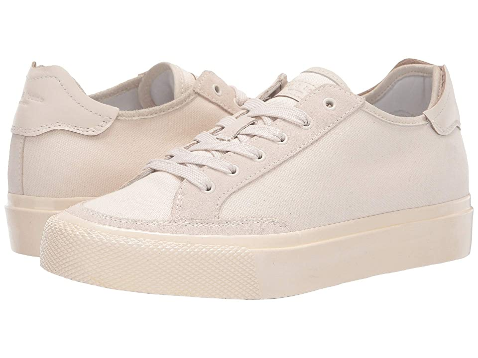 rag & bone RB Army Low Top Sneaker (Ecru Canvas) Women