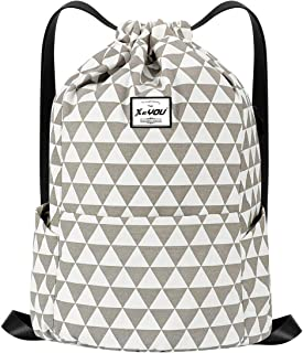 drawstring backpack pattern with zipper pocket