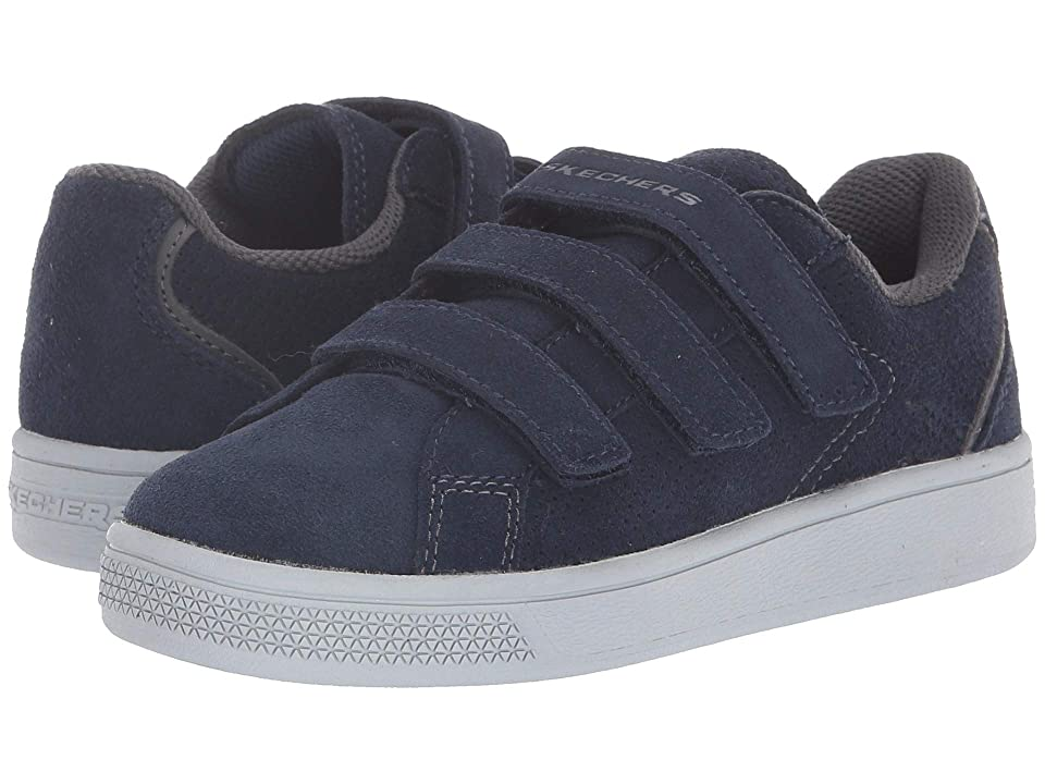 SKECHERS KIDS Metro-Wave Tri Flux (Little Kid/Big Kid) (Navy) Boy