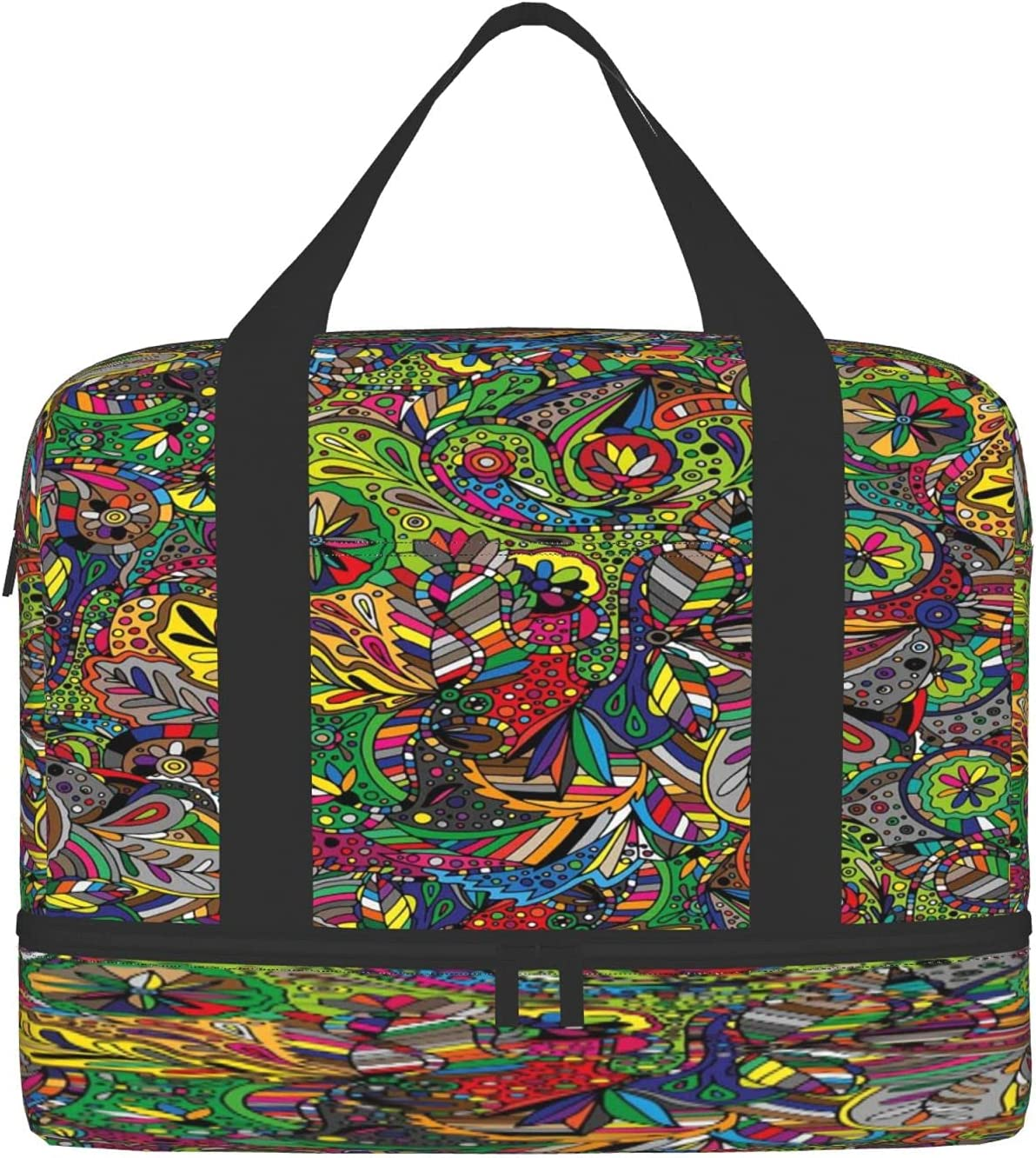 Sports Gym Bag with Max 79% We OFFer at cheap prices OFF Wet Shoes Travel Compartment Pocket Duffel