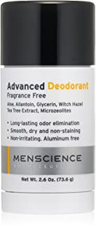 MenScience Androceuticals Advanced Deodorant, 2.6 oz