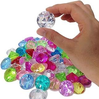 カラー宝石 ダイヤカット (約500g) 【宝石つかみ】