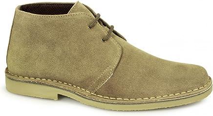 Roamers Gents Mod Suede Desert Boots