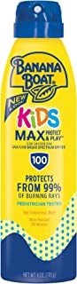 Banana Boat UltraMist Kids MAX Protect & Play Clear Spray Sunscreen SPF 100: 6 OZ