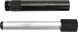 Kershaw Ultra-Tek Blade Sharpener (2535); 4-Inch Sharpening Steel; 600-Grit Diamond-Coated Oval Shaft; Lightweight 6061-T6 Anodized Aluminum Handle; Compact, Portable Design; 2.1 oz.