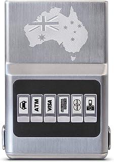 RFID Blocking Wallet Aussie Flag - ACM Wallet Credit Card Holder with Money Clip