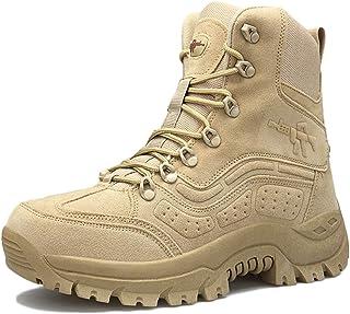 MERRYHE Bottes Militaires pour Hommes Bottes de Combat dans Le désert Bottes Tactiques Camping Randonnée Chaussures de Spo...