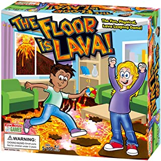 The Floor is Lava-Interactive Turntable Ground Board Game ,Newest Funny Family Games for Kids and Adult