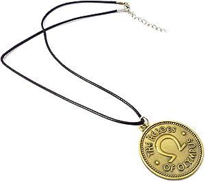 Lucky Joyce Collar Moneda - The Heroes of Olympus - Percy Jackson